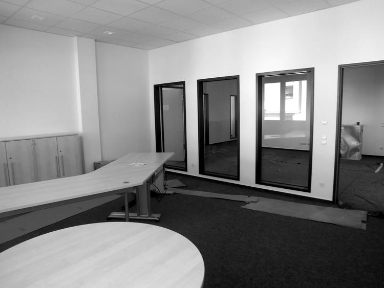 2014/15: Ludwigshafen - Büroumbau #Umnutzung - Bauherr: SP Consulting