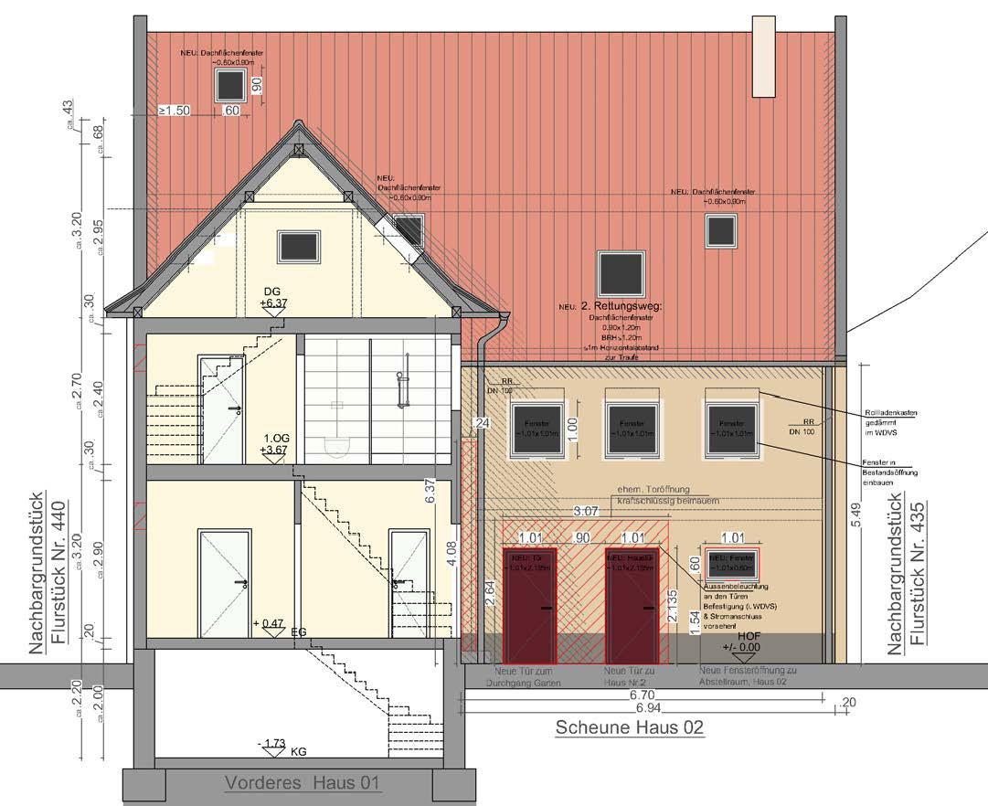 Umbau Scheune in Wohnhaus